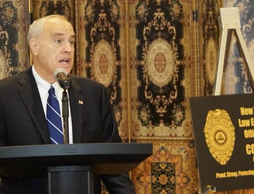 DiNapoli talks 2022 and Buffalo's mayoral race